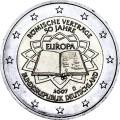2 евро 2007 50 лет Римскому договору, Германия, двор D
