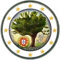 2 евро 2007 Португалия, председательство Португалии в Совете Европейского союза цветная