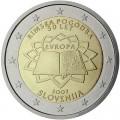 2 евро 2007 50 лет Римскому договору, Словения