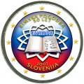 2 euro 2007 Treaty of Rome, Slovenia (colorized)