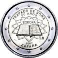 2 евро 2007 50 лет Римскому договору, Испания