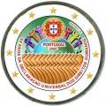 2 евро 2008 Португалия, 60 лет Декларации прав человека, цветная