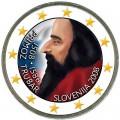 2 евро 2008 Словения, 500 лет со дня рождения Приможа Трубара, цветная