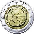 2 euro 2009 economic and monetary union, Germany, mint A