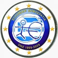 2 euro 2009 Economic and Monetary Union, Greece (colorized)