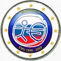 2 euro 2009 Economic and Monetary Union, Slovenia (colorized)