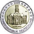 2 euro 2009 Germany, Saarland, mint F