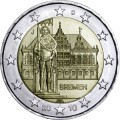2 euro 2010 Germany, Town Hall of Bremen, mint J