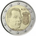 2 euro 2010 Luxembourg, Arms of the Grand-Duke of Luxembourg