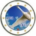 2 euro 2011 Finland, Bank of Finland colorized