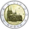 2 euro 2011 Germany North Rhine-Westphalia, Cologne Cathedral, mint A
