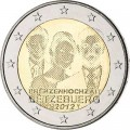 2 euro 2012 Luxembourg Royal Wedding