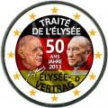 2 евро 2013 Германия Елисейский договор, цветная