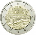 2 euro 2014 France 70th Anniversary of the Normandy landing