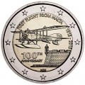2 Euro 2015 Malta, the first 100 years of air travel from Malta