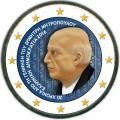 2 евро 2016 Греция, Димитрис Митропулос (цветная)