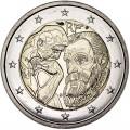 2 euro 2017 France, Auguste Rodin