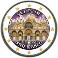 2 евро 2017 Италия, собор Святого Марка в Венеции (цветная)