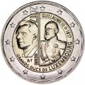 2 euro 2017 Luxembourg, The 200th anniversary of the Grand Duke Guillaume III