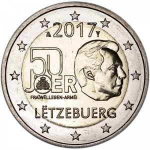 2 euro 2017 Luxembourg, Military Service