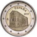 2 euro 2017 Spain St Mary at Mount Naranco