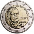 2 euro 2018 Germany Helmut Schmidt, mint mark A