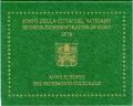 2 евро 2018 Ватикан, Европейский год культурного наследия, в буклете