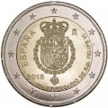 2 euro 2018 Spain 50th Birthday of King Felipe VI