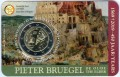 2 Euro 2018 Belgien, Pieter Bruegel, im blister