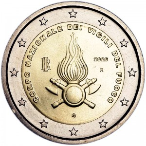 2 euro 2020 Italy, National Fire Department