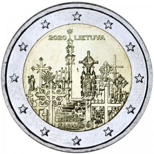 2 euro 2020 Lithuania, Hill of Crosses