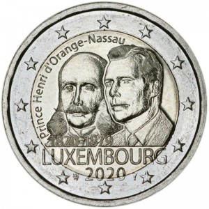 2 euro 2020 Luxembourg, Prince Henry