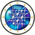 2 евро 2020 Финляндия, Университет Турку (цветная)