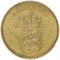 2 кроны 1957 Дания