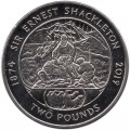 2 pounds 2019 South Georgia and South Sandwich Islands, Ernest Shackleton
