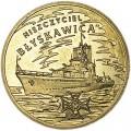 2 злотых 2012 Польша, эсминец Блискавица (Niszczyciel Blyskawica)