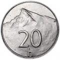20 геллеров 2001 Словакия