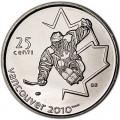 25 центов 2009 Канада Олимпиада 2010 Ванкувер: Следж-хоккей