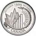 25 центов 1999 Канада, Декабрь