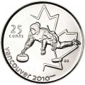 25 cents 2007 Canada Olympics 2010 Vancouver : Curling