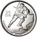 25 центов 2007 Канада Олимпиада 2010 Ванкувер: Хоккей