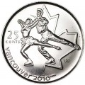 25 cents 2008 Canada Olympics 2010 Vancouver : Figure skating