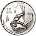 25 центов 2008 Канада Олимпиада 2010 Ванкувер: Фристайл