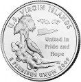 25 cent Quarter Dollar 2009 USA Virgin Inseln D