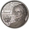 25 cents 2013 Canada, Laura Secord