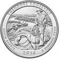 25 центов 2016 США Теодор Рузвельт (Theodore Roosevelt), 34-й парк, двор D