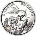 25 cents 2017 Canada, 150 Years of Confederation Canada - Hope for a Green Future