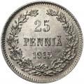 25 pennia 1915 Finland, from circulation VF