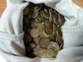 2500 монет 10 копеек 2006-2014 Россия в мешке, из обращения