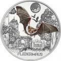 3 евро 2016 Австрия, Летучая мышь